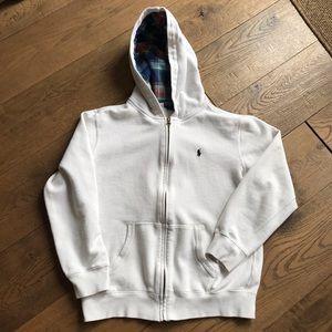 Polo by Ralph Lauren zip up hoodie